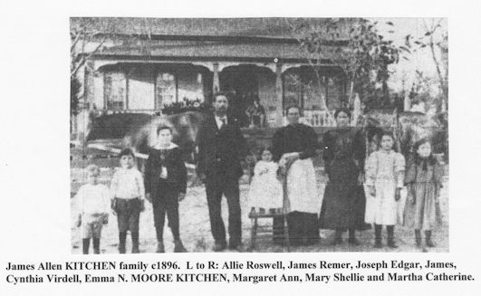James Allen Kitchen family